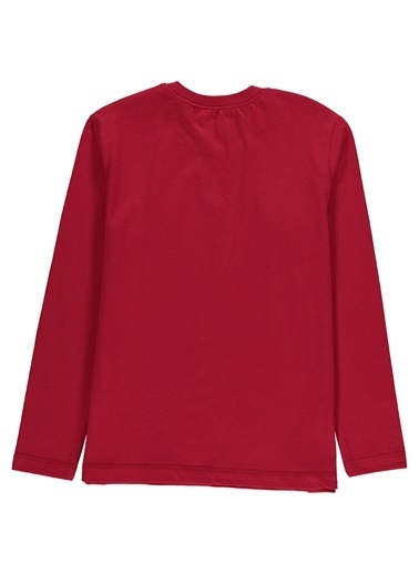 Morhipo Kids Uzun Kol  Baskılı T-shirt Kırmızı